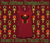 Men Red Heru Tank Top