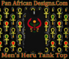 Men Black Heru Tank Top