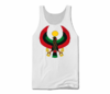 Men White Heru Tank Top