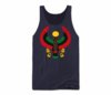Men Navy Blue Heru Tank Top