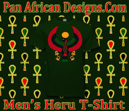 Men Forest Green Heru T-Shirt