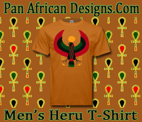 Men Tangerine Heru T-Shirt