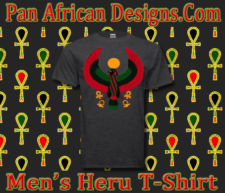 Men Dark Heather Heru T-Shirt