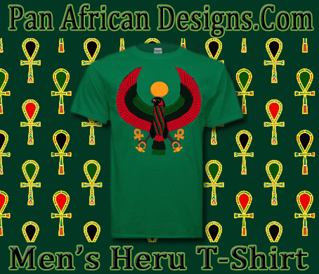 Men's Kelly Green Heru T-Shirt