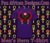 Men Purple Heru T-Shirt