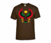 Men Brown Heru T-Shirt