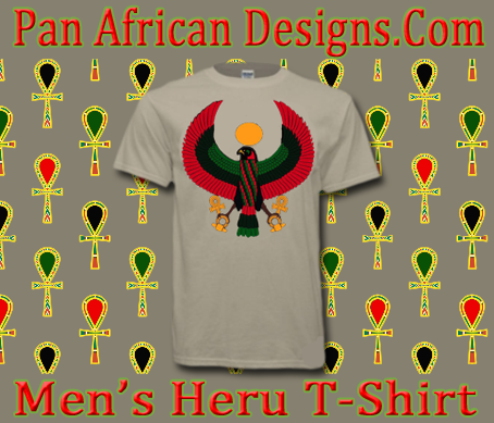Men Tan Heru T-Shirt