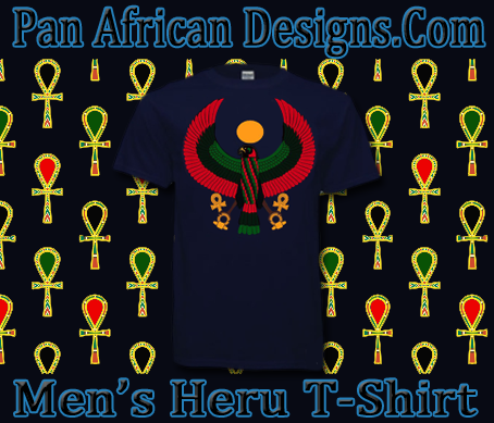 Men Navy Heru T-Shirt
