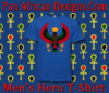 Men Royal Blue Heru T-Shirt