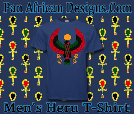 Men Metro Blue Heru T-Shirt