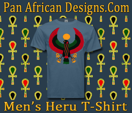 Men Stone Blue Heru T-Shirt