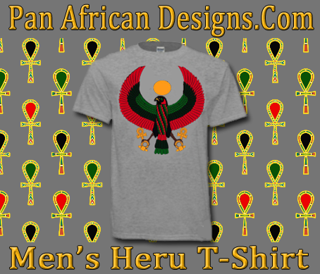 Men Sports Grey Heru T-Shirt