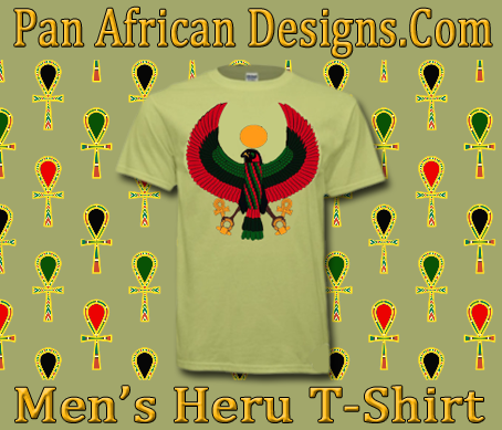 Men Pistachio Green Heru T-Shirt