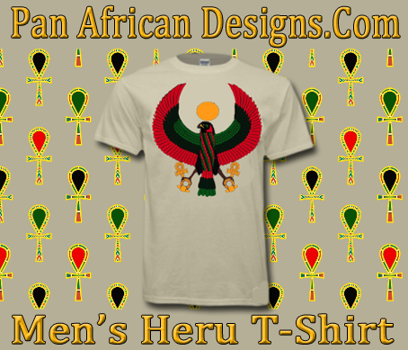 Men Natural Heru T-Shirt