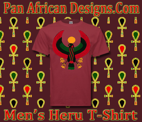 Men Cedar Red Heru T-Shirt