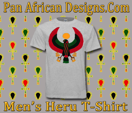 Men Ash Grey Heru T-Shirt