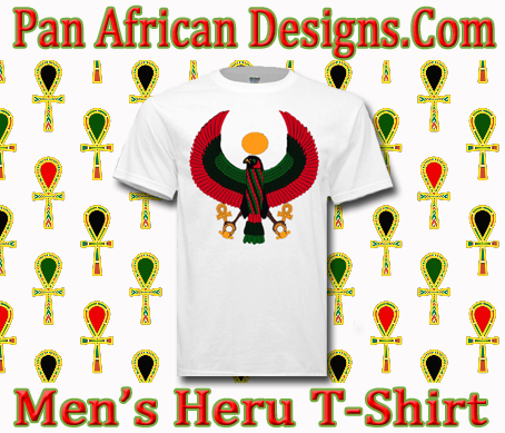 Men White Heru T-Shirt