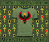 Men Heather Green with Forest Geen Trim Heru T-Shirt