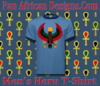 Men Carolina with Navy Blue Trim Heru T-Shirt