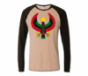 Men Tan with Brown Long Sleeve Heru T-Shirt