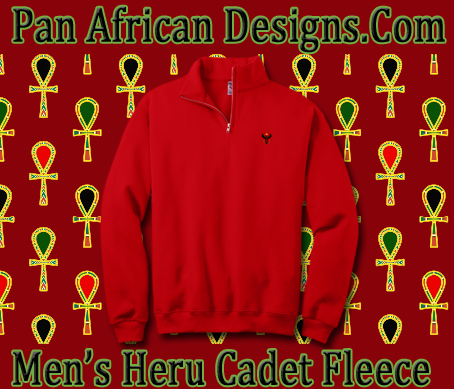Men Red Cadet Fleece