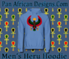 Men Carolina Blue Heru Hoodie