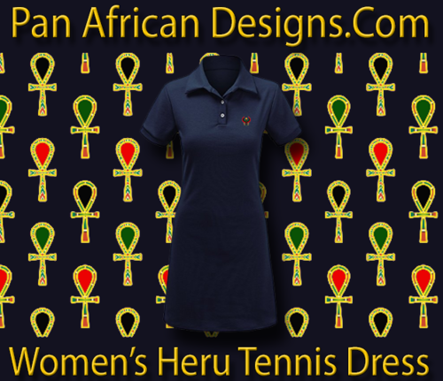 Women Navy Blue Heru Tennis Dress