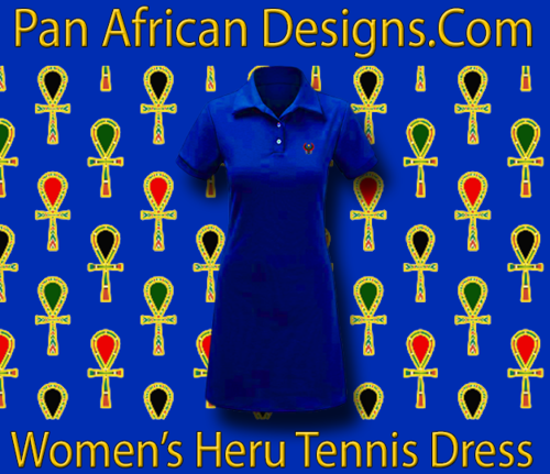Women Royal Blue Heru Tennis Dress