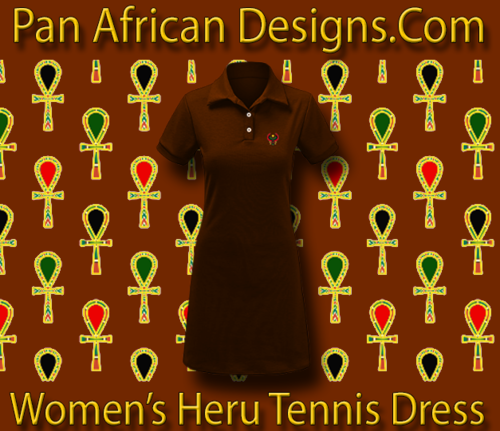 Women Choclate Heru Tennis Dress