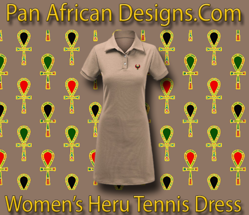 Women Taupe Heru Tennis Dress