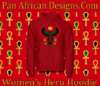 Women Cherry Red Heru Hoodie