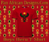 Boys Red Heru T-Shirt