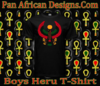 Boys Black Heru T-Shirt
