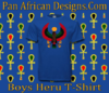 Boys Royal Blue Heru T-Shirt