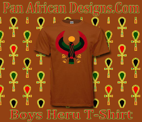 Boys Texas Orange Heru T-Shirt
