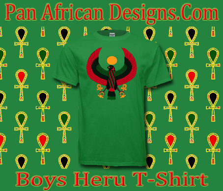Boys Irish Green Heru T-Shirt