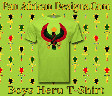Boys Safty Green Heru T-Shirt