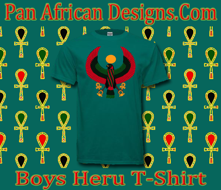 Boys Jade Green Heru T-Shirt