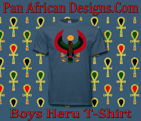 Boys Indigo Blue Heru T-Shirt