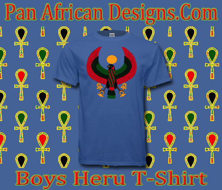Boys Iris Blue Heru T-Shirt