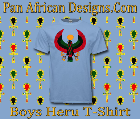 Boys Light Blue Heru T-Shirt