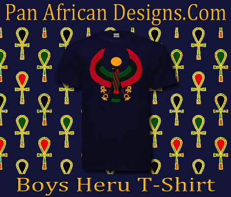 Boys Navy Blue Heru T-Shirt