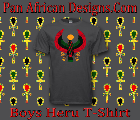 Boys Charcoal Heru T-Shirt