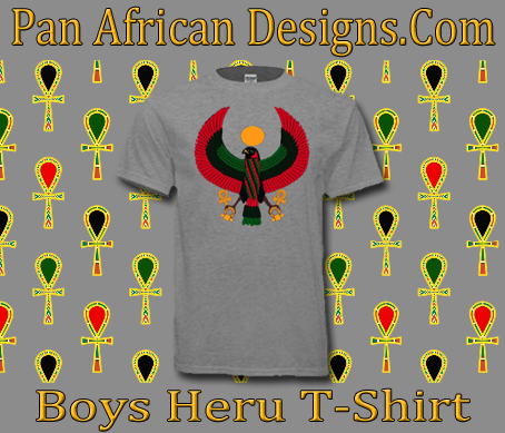 Boys Sports grey Heru T-Shirt