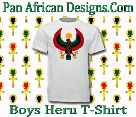 Boys White Heru T-Shirt