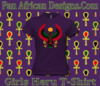 Girls Purple Heru T-Shirt