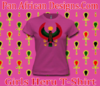 Girls Fuchsia Heru T-Shirt