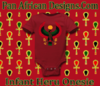 Infant Red Large Print Heru Onesie