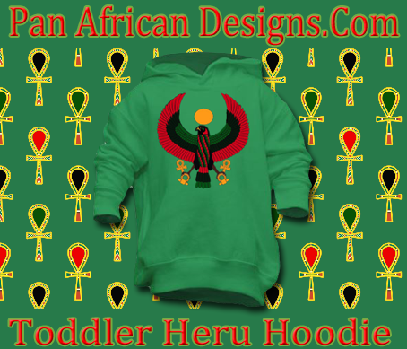 Toddler Kelly Green Heru Pullover Hoodie
