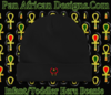 Infant Black Heru Cap